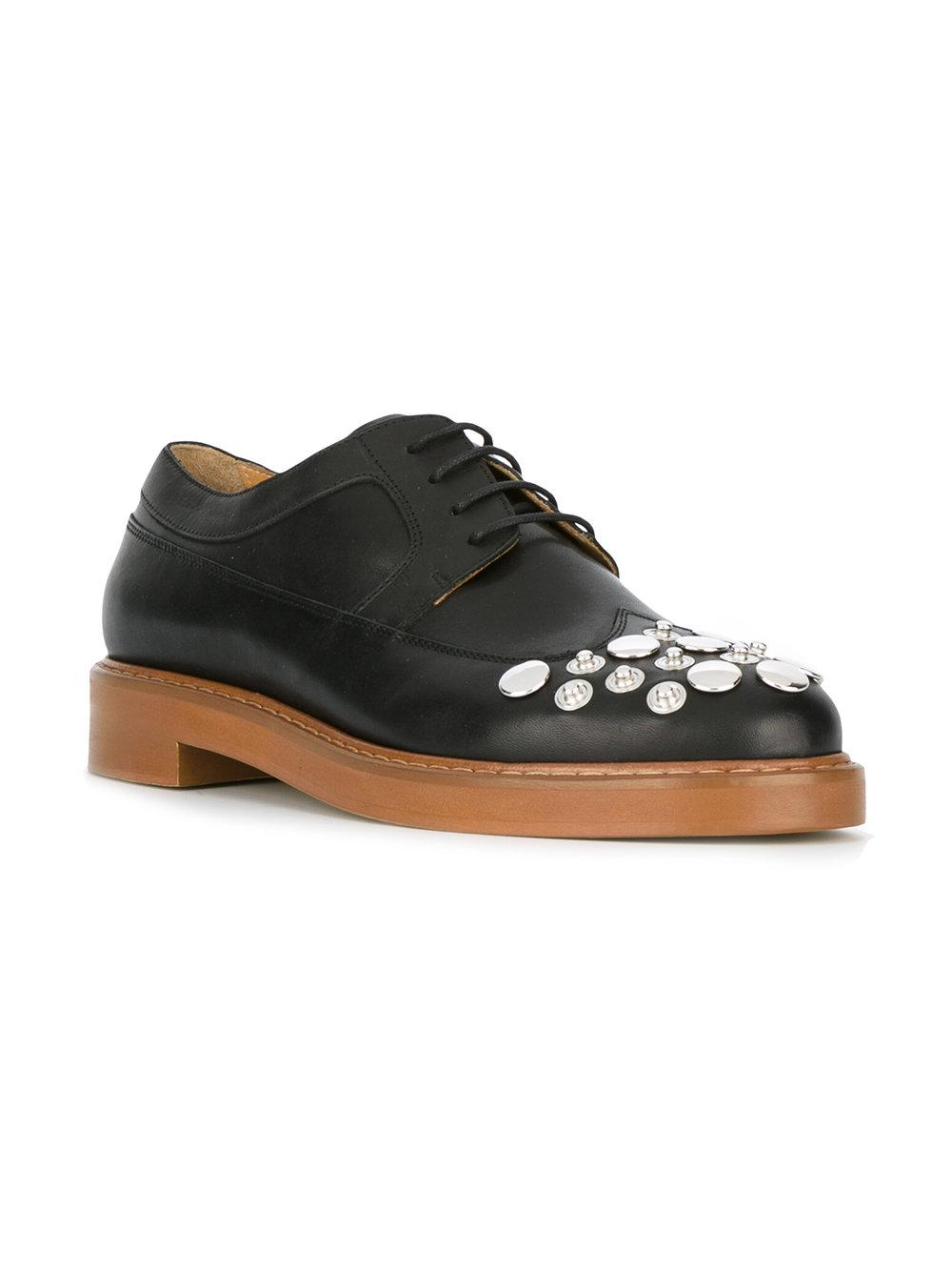 915a0c730e5f MM6 by Maison Martin Margiela Studded Brogues in Black - Lyst