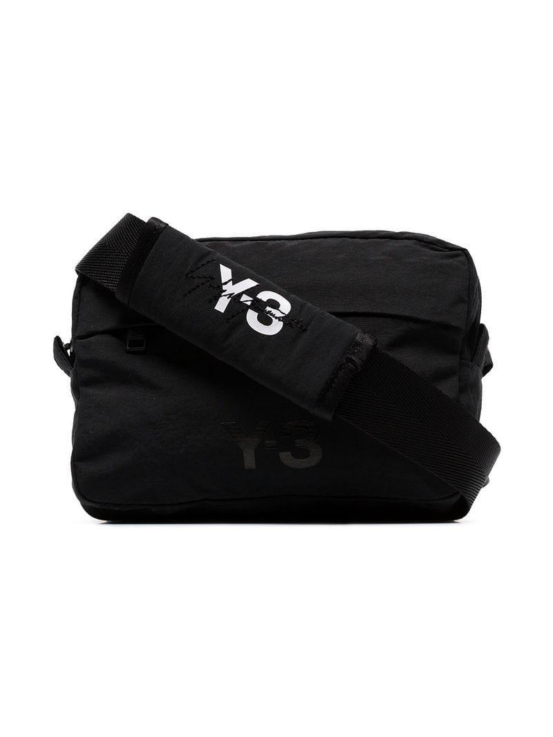 Lyst - Y-3 Multi Pocket Detachable Shoulder Bag in Black for Men cfd25322462ed