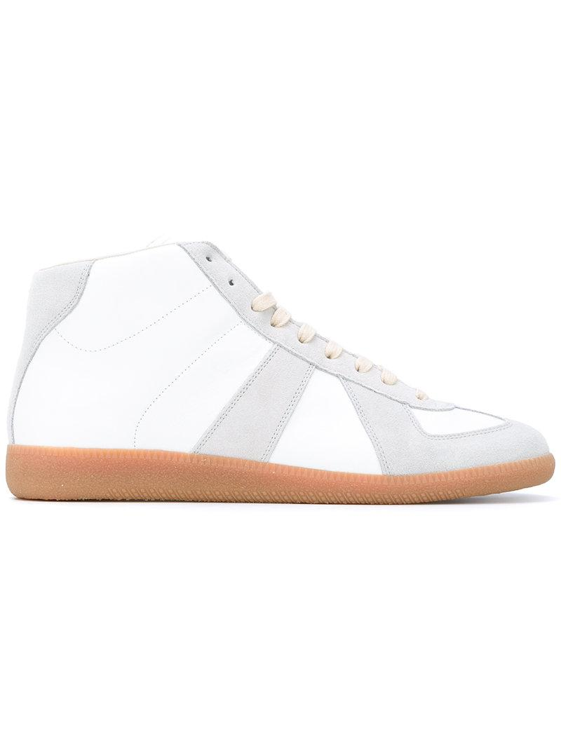 Replica hi-top sneakers - White Maison Martin Margiela 4ZdO9
