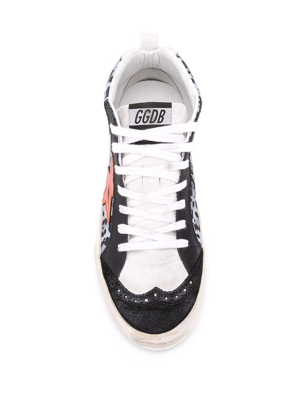 Zapatillas altas Golden Goose Deluxe Brand de Cuero de color Negro