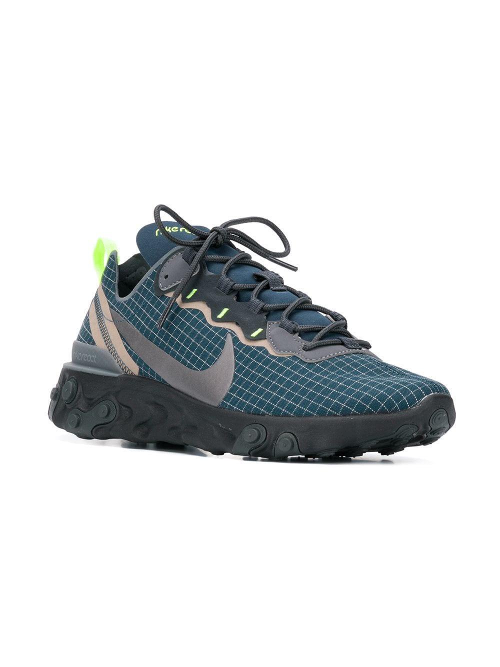 c9cbd05e90f5 Lyst - Nike React Element 87 Sneakers in Blue for Men