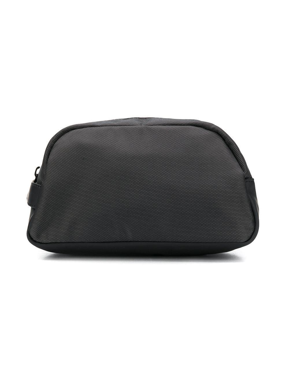 26ea90b4d34 Lyst - Hackett Aston Martin Racing Wash Bag in Black for Men