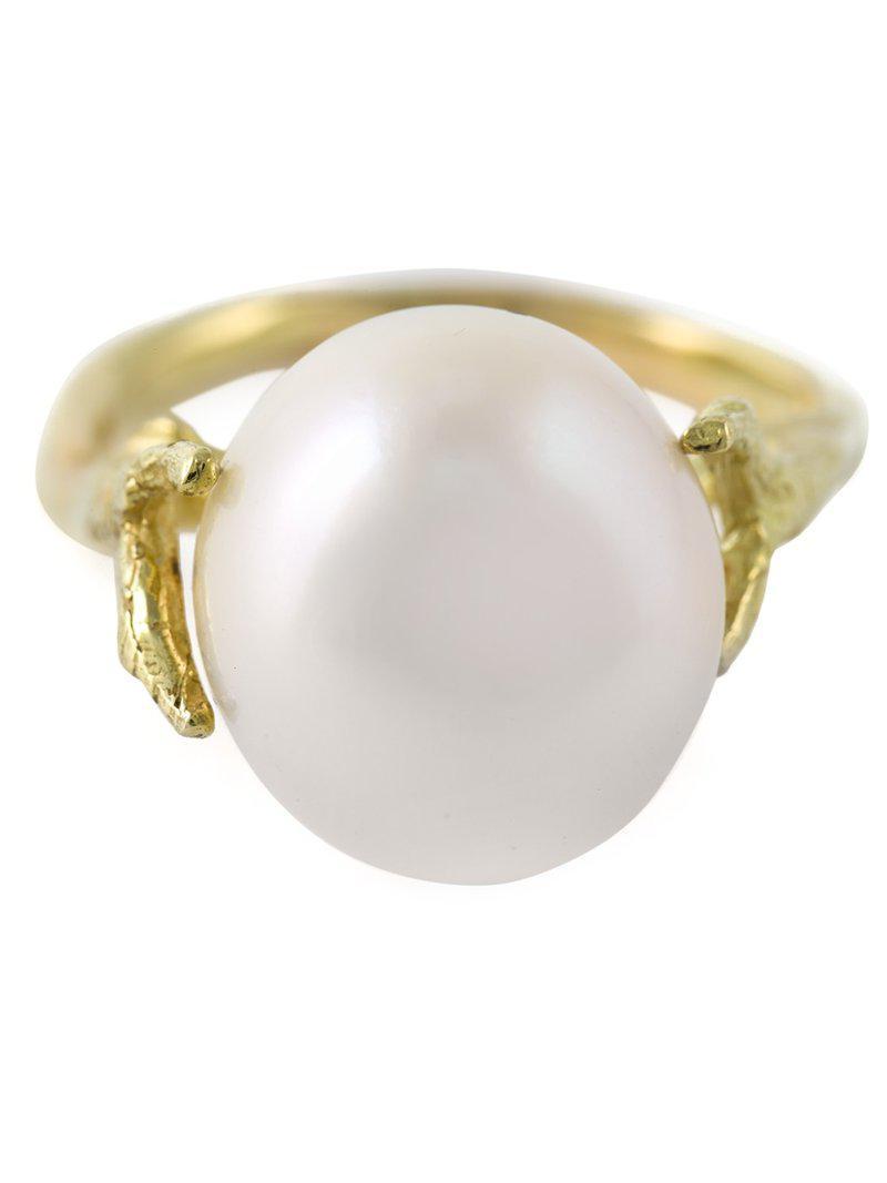 Pearl ring - White Wouters & Hendrix xthtsU