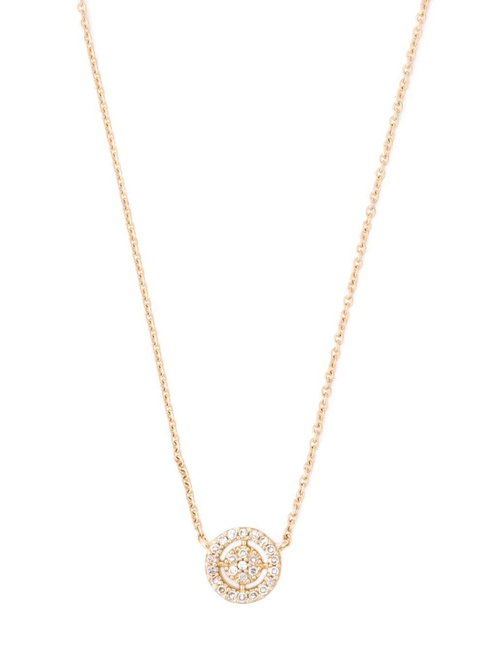 Astley Clarke Icon diamond pendant necklace - Metallic Tdcp8qIKm9