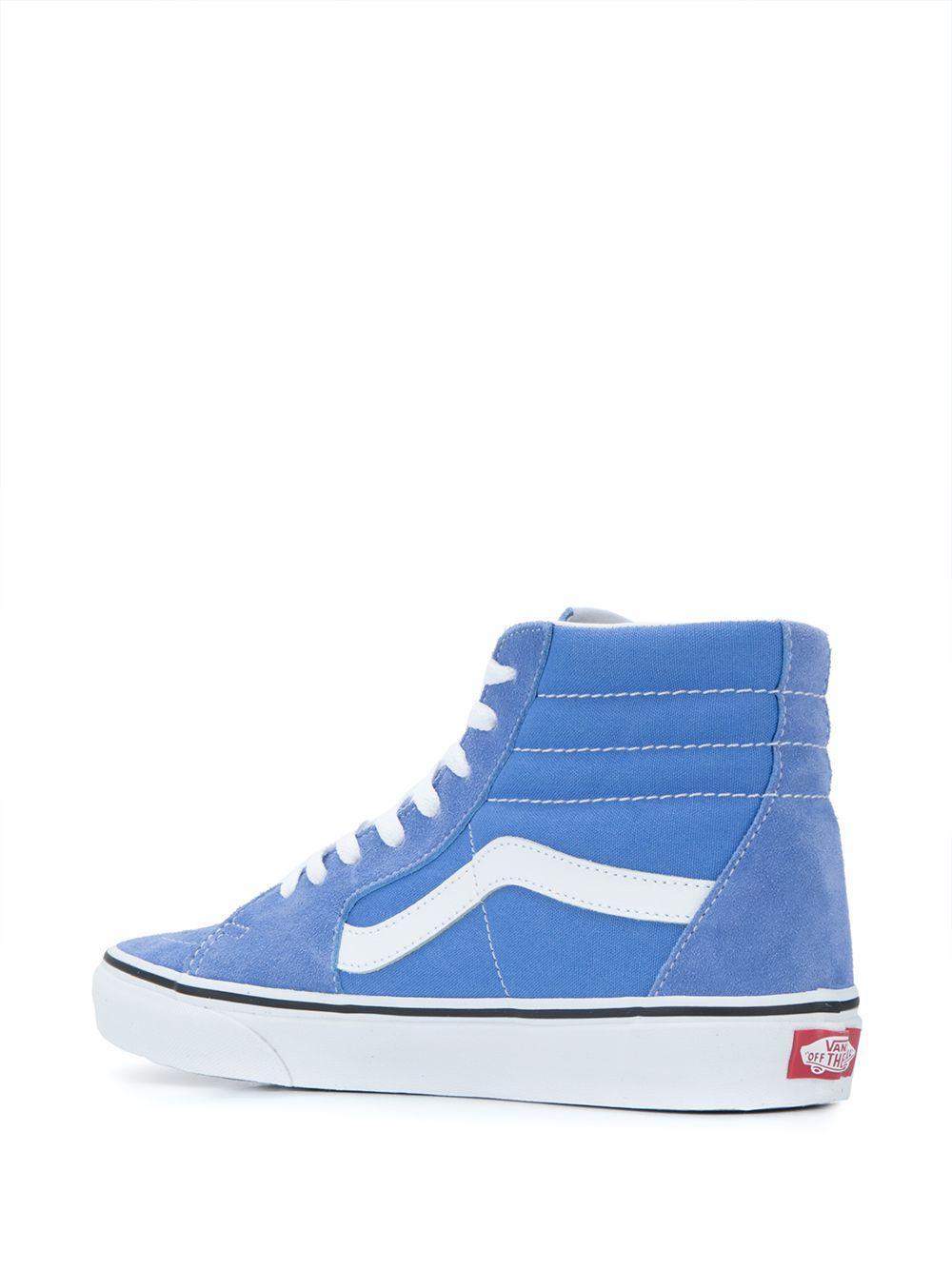 Zapatillas UA Sk8-Hi Vans de Lona de color Azul