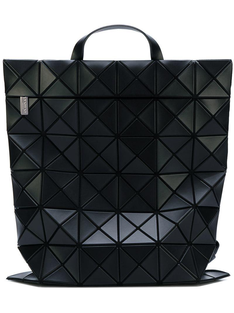 2b068a6c0c1 Bao Bao Issey Miyake - Black Mochila Flat Pack - Lyst. Ver en pantalla  completa