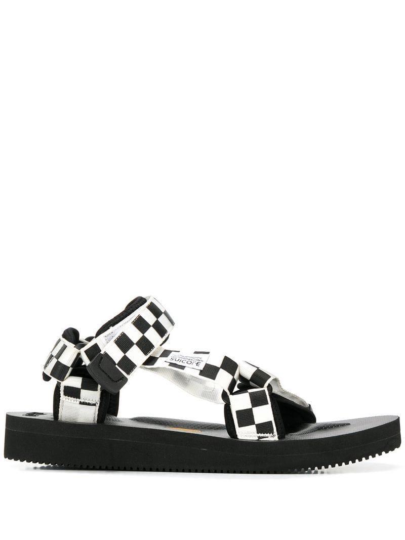 e35f2e57227d Suicoke Depa Sandals in Black for Men - Lyst