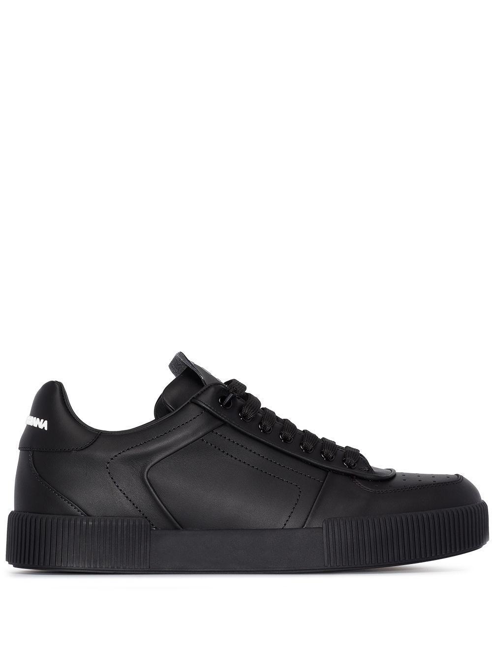 Zapatillas Miami Dolce & Gabbana de Cuero de color Negro para hombre