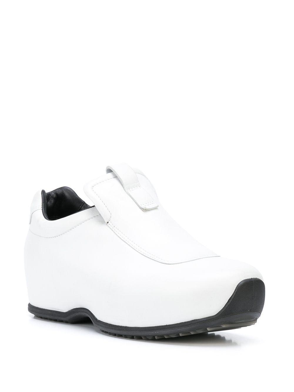 Zapatillas tipo zuecos sin cordones Rosetta Getty de color Blanco
