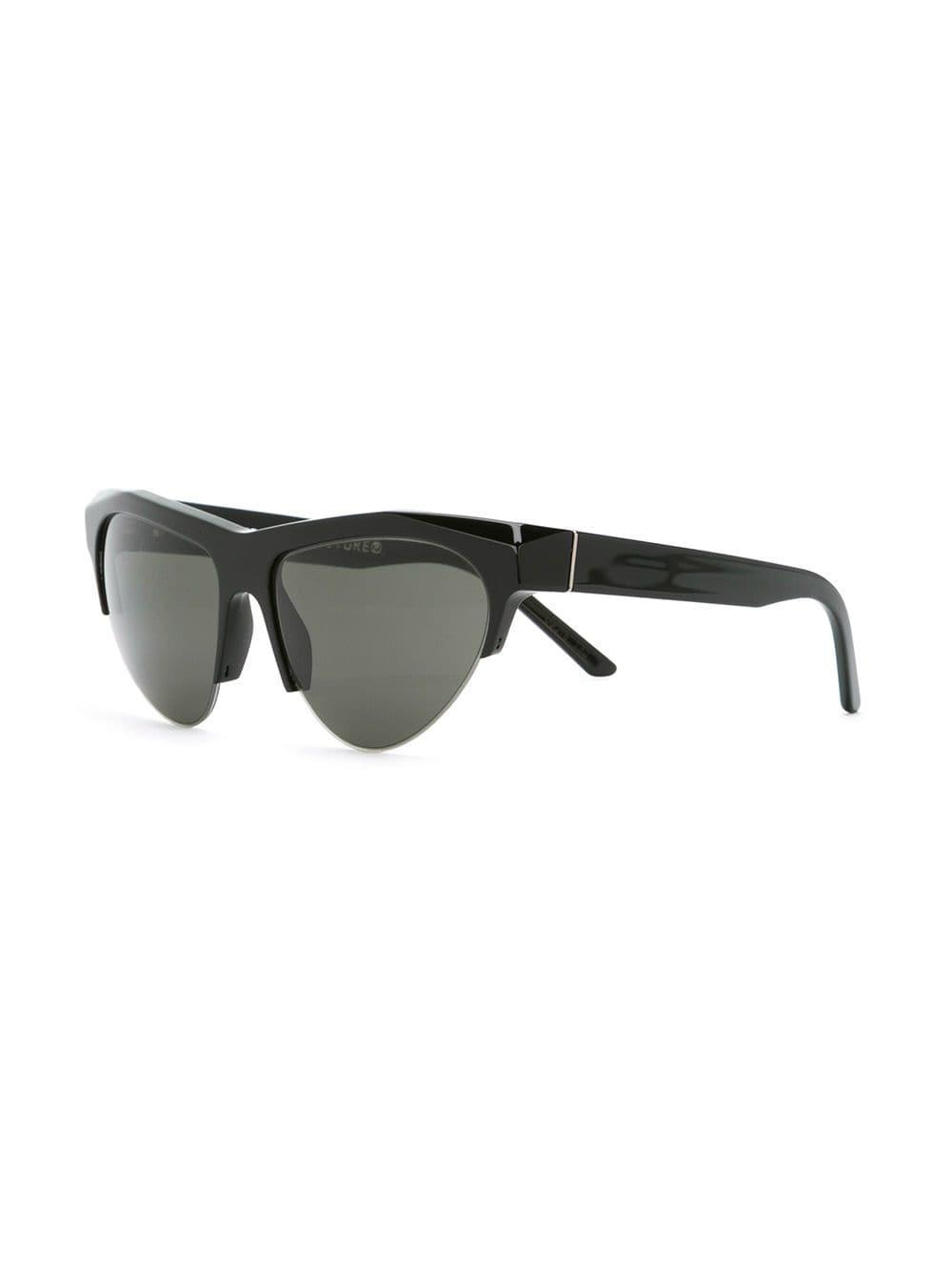 Retrosuperfuture 'ora' Sunglasses in Black