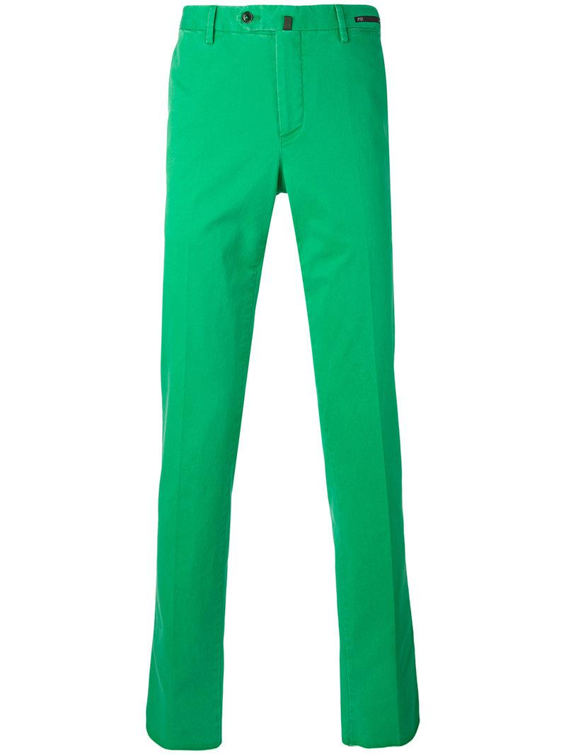Pantalon Slim Fit - Pt01 Vert d5kKp