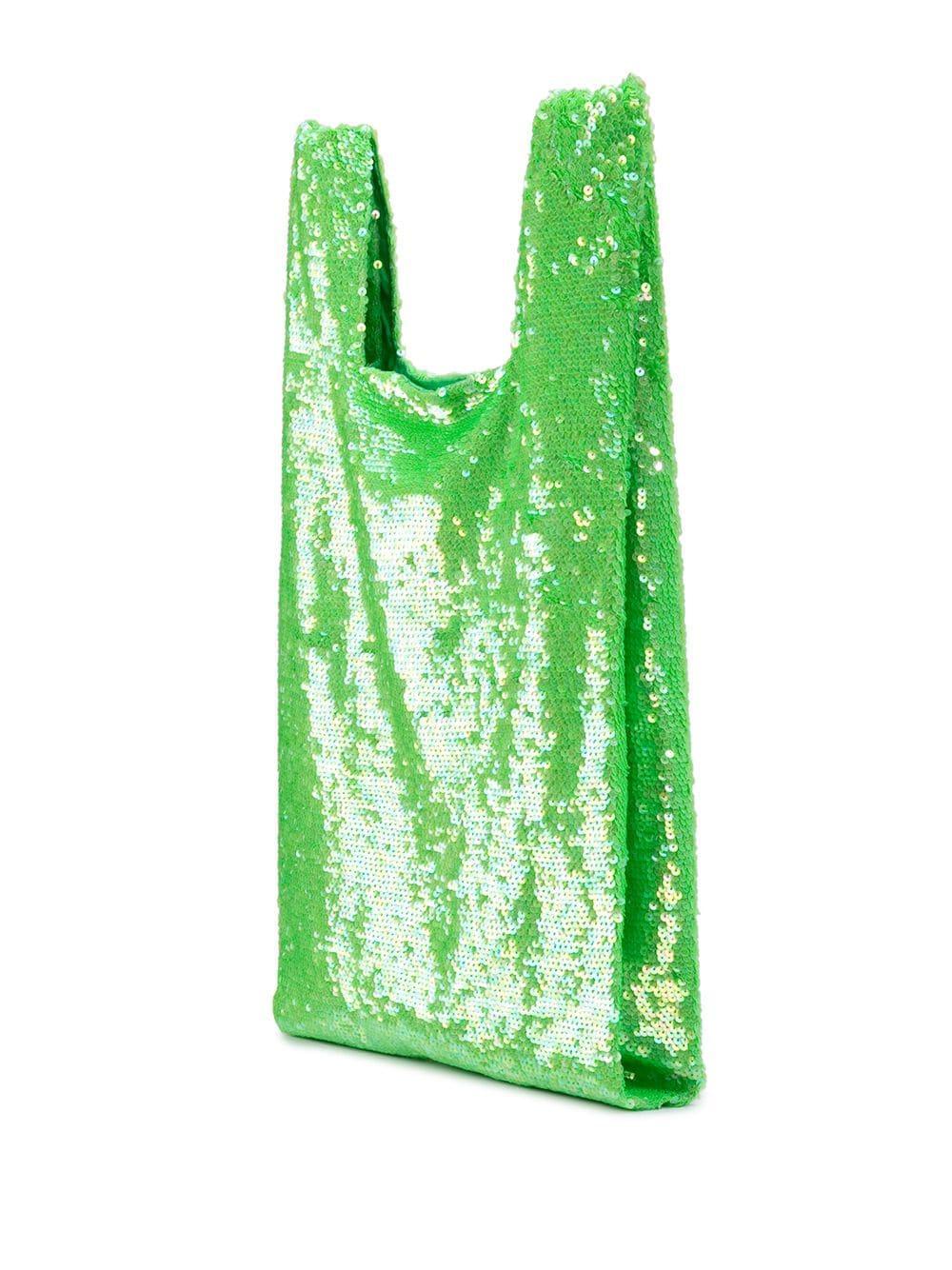 Ashish Baumwolle Klassische Hobo-Tasche in Grün 2nkxU
