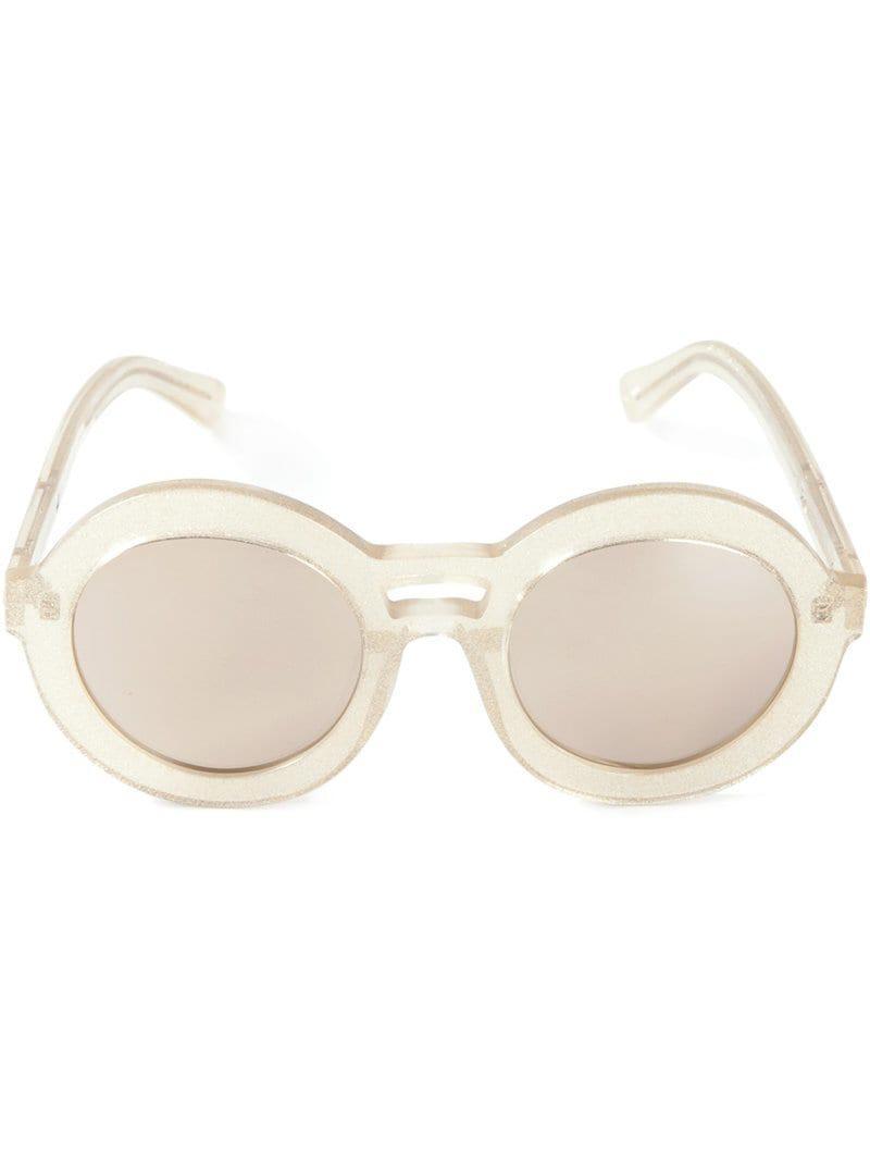 16bb000c95 Karen Walker Joyous Sunglasses in Metallic - Lyst