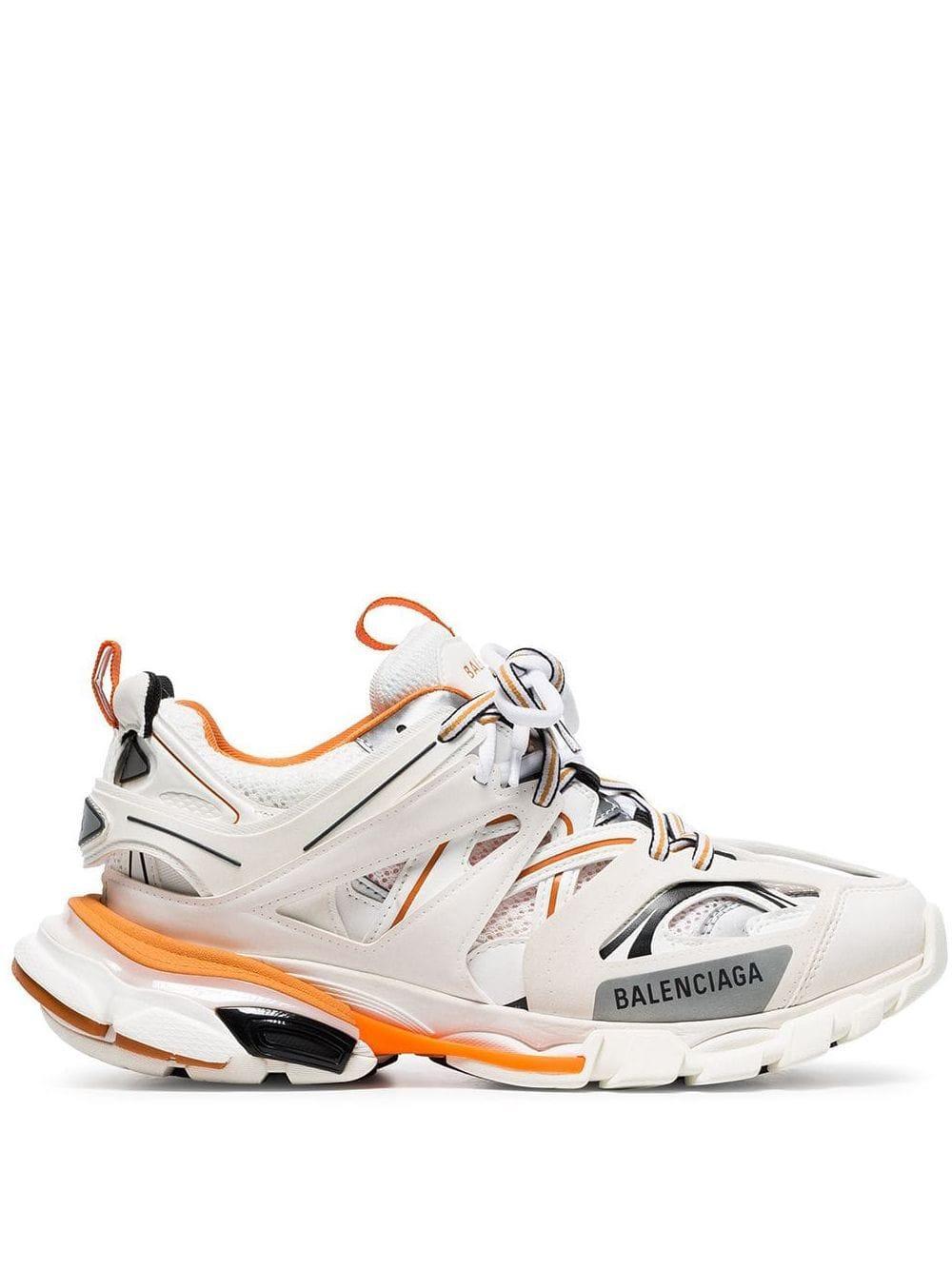Sneakers Track Balenciaga de Caucho de color Blanco: ahorra un 10 %