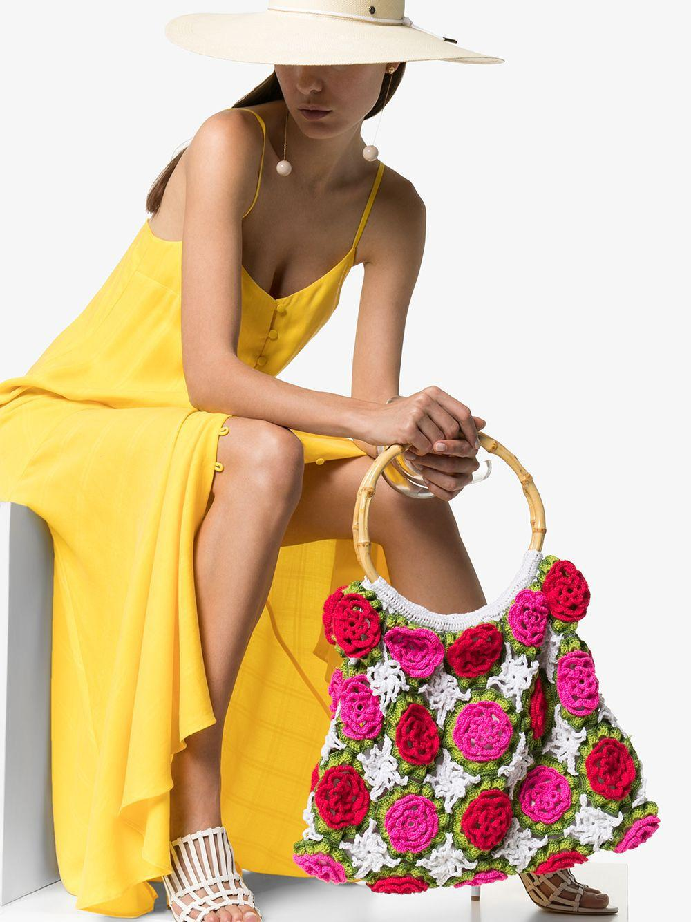 Sac cabas Rosetta Coton MY BEACHY SIDE en coloris Rose