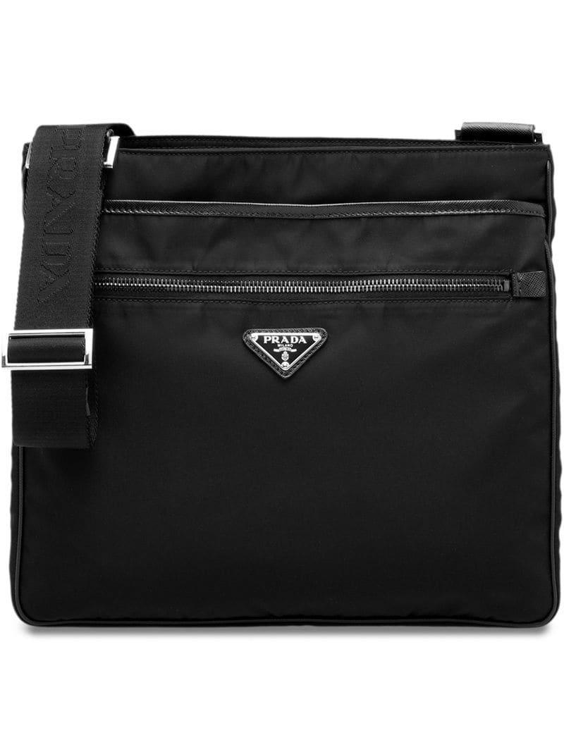 acc346197976 Lyst - Prada Nylon Bag in Black for Men