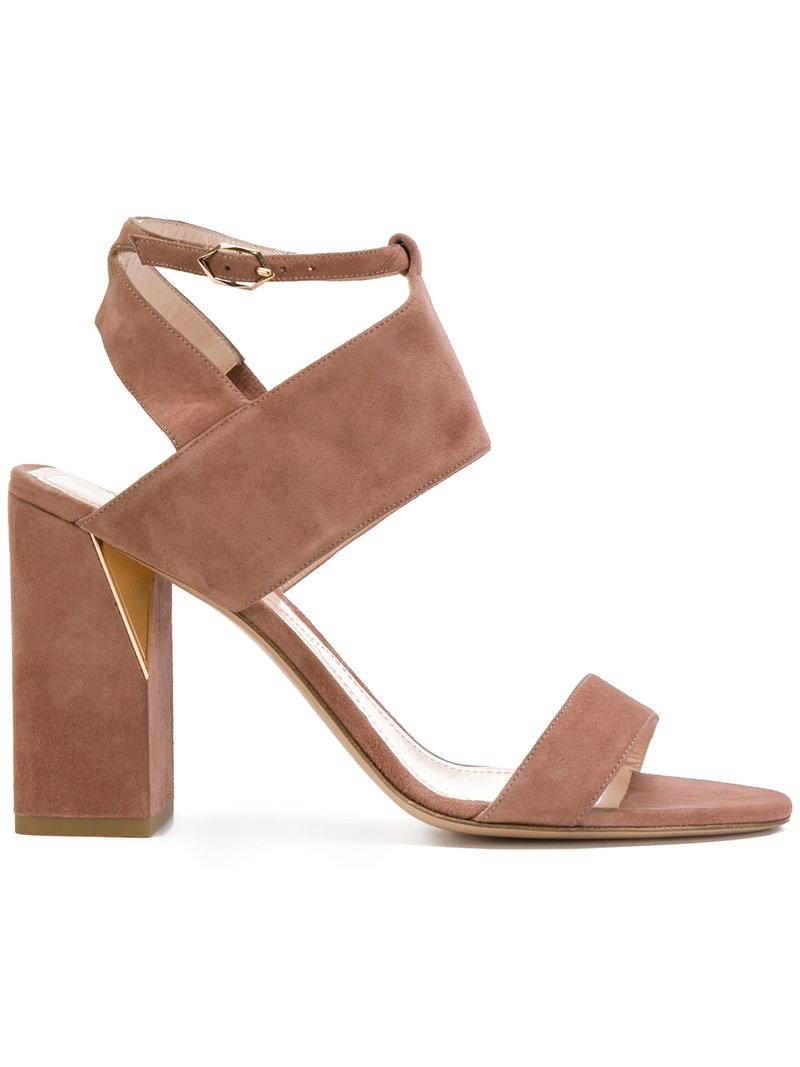 Nicholas Kirkwood Zaha sandals - Multicolour farfetch rosa Pelle