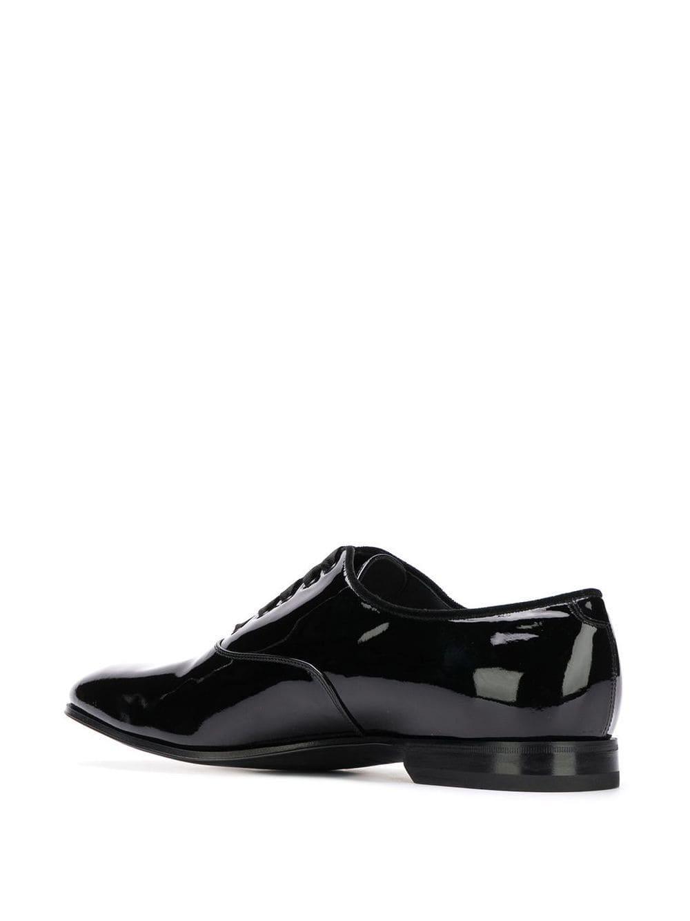 Zapatos oxford clásicos Ferragamo de Cuero de color Negro para hombre