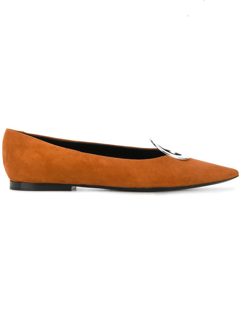 clearance 100% authentic Proenza Schouler pointed ballerina shoes shopping online outlet sale outlet get to buy 9Ccfv3x9F