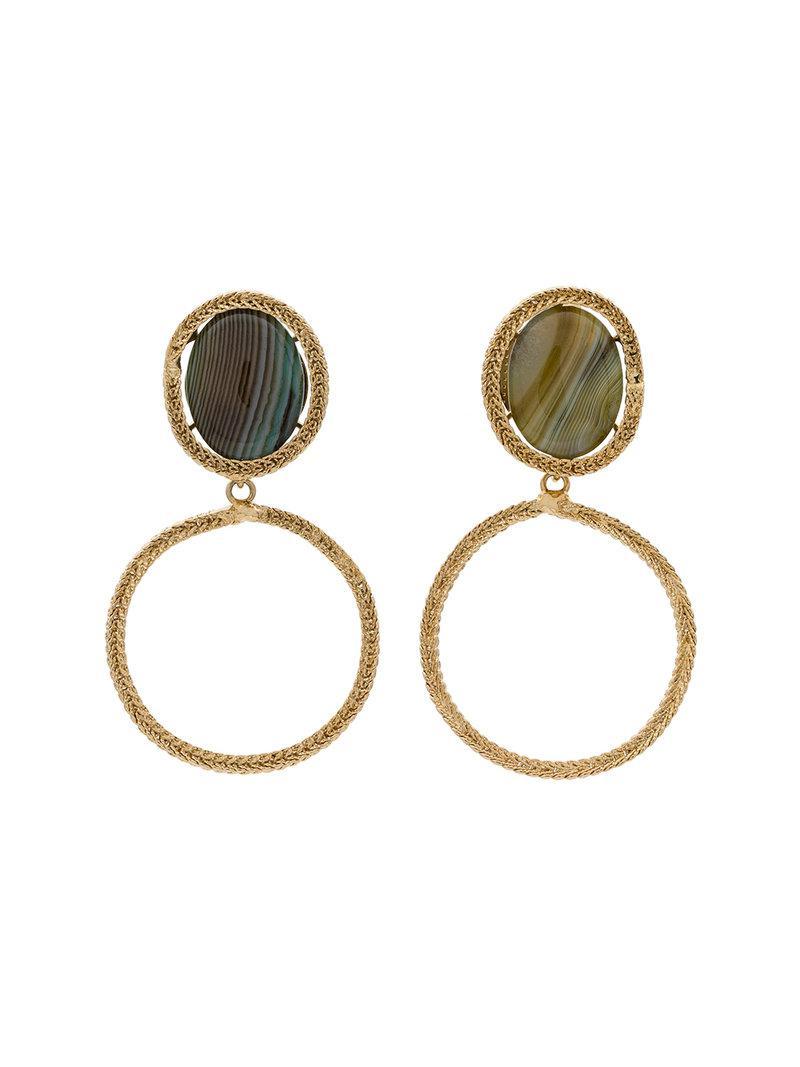 Scarabeo drop earrings Rosantica p4HxFC