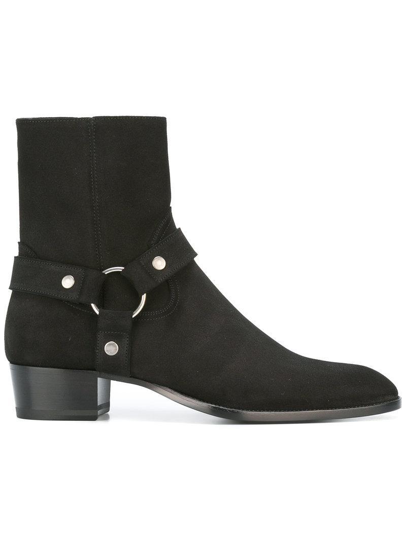 cheap tumblr cheap release dates Maison Margiela Brown Wyatt Harness Boots hqbFQ