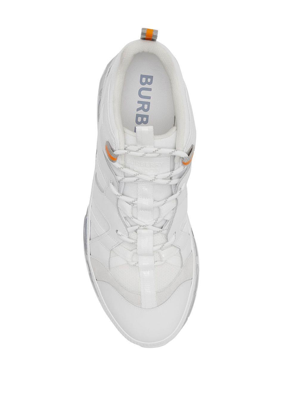 Baskets Union Synthétique Burberry pour homme en coloris Blanc DJev