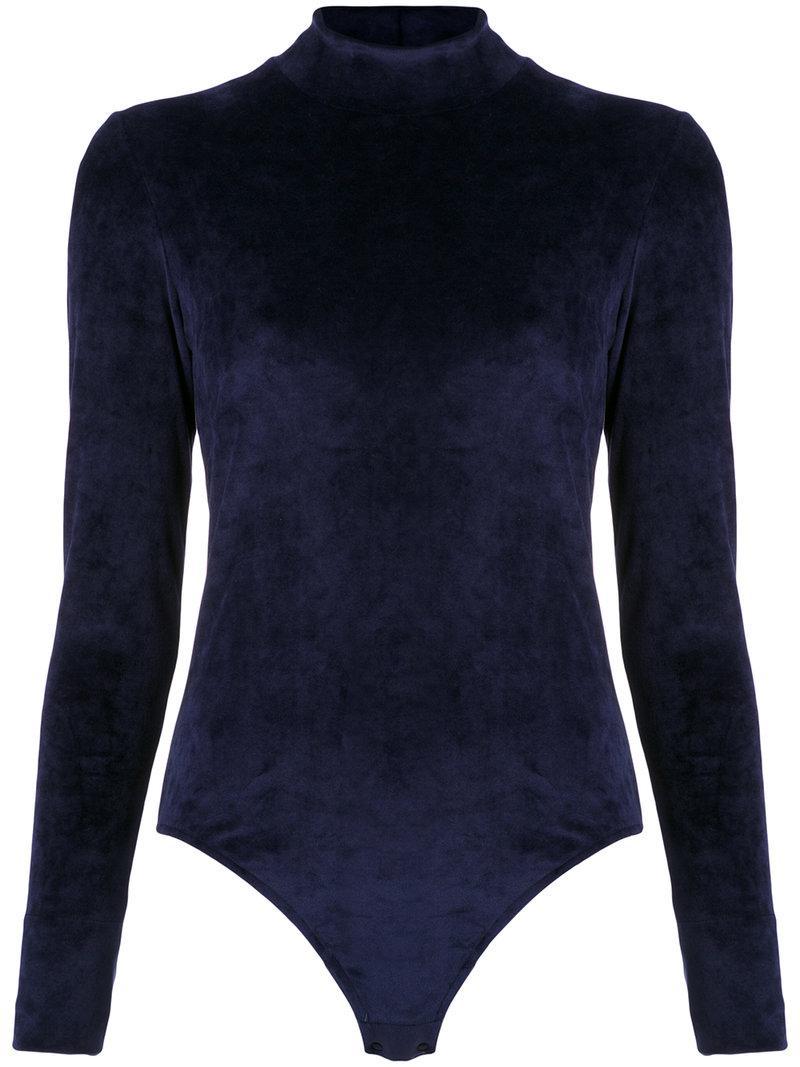 Osklen longsleeved bodysuit For Sale Cheap Price Discount Online amXtmLKg