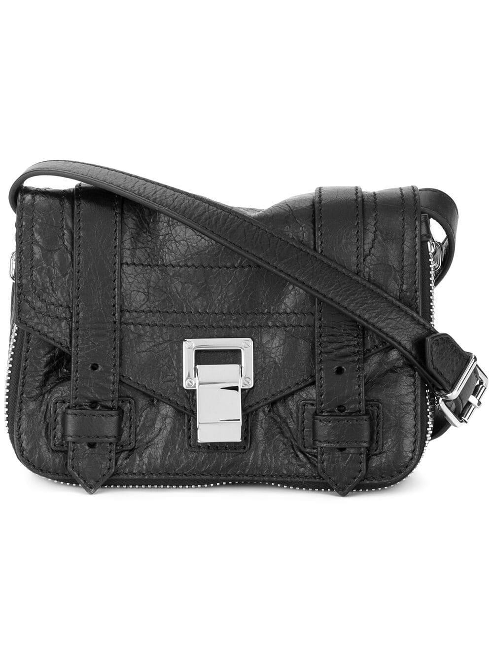 Black Zip Women's Bag Crossbody Ps1Mini nyNwv8Om0P