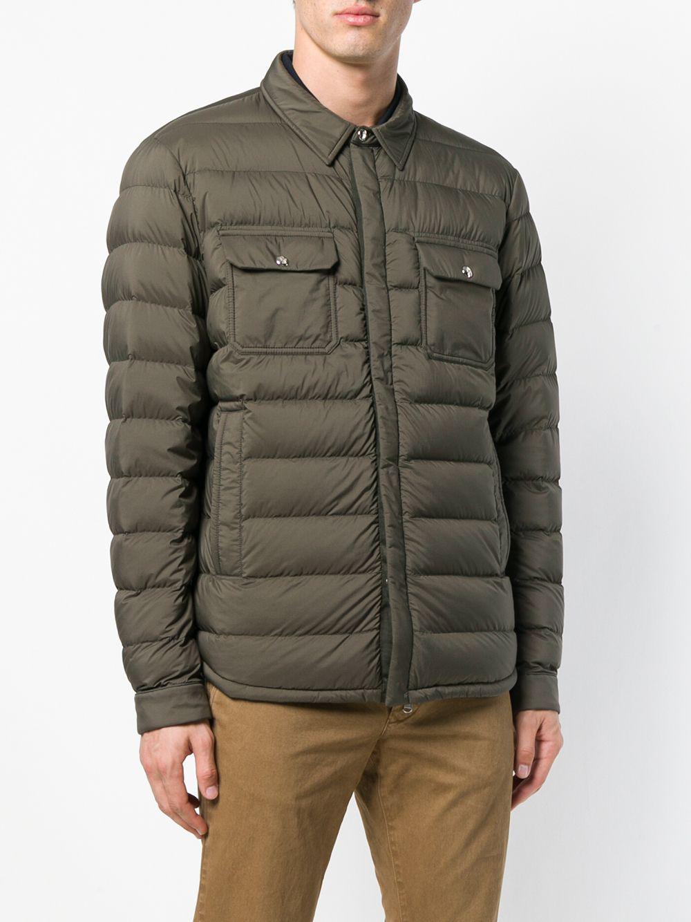 Moncler Caph Jacket in Green for Men
