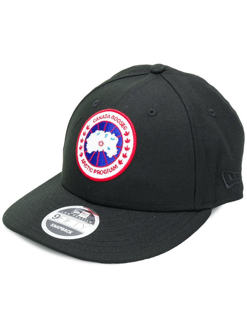 6caab241434 Lyst - Canada Goose Arctic Program Baseball Cap in Black for Men