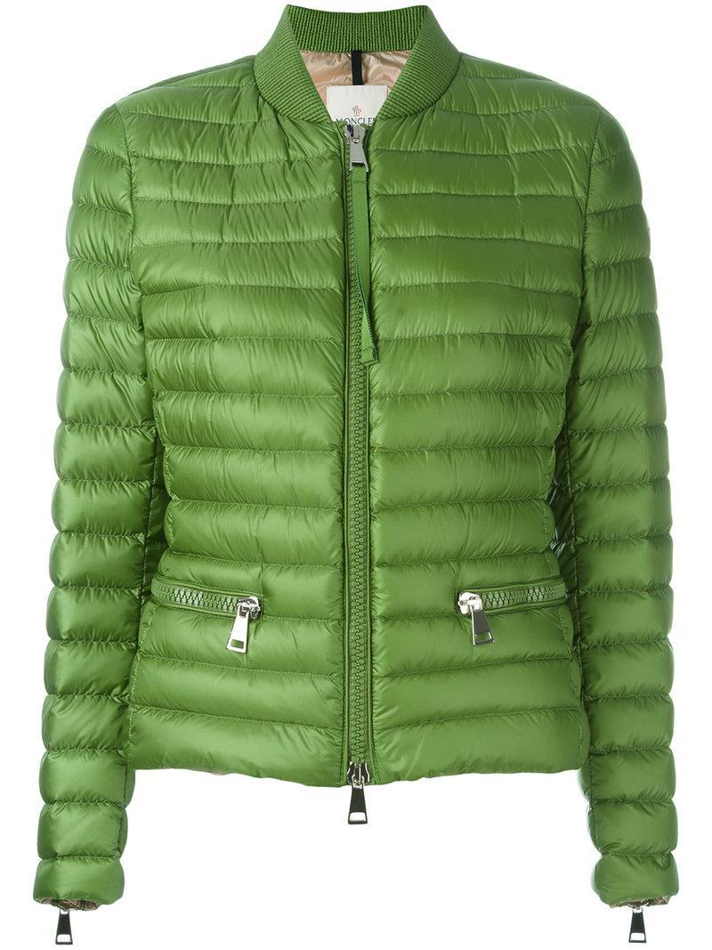 Lyst - Moncler Blen Padded Jacket in Green