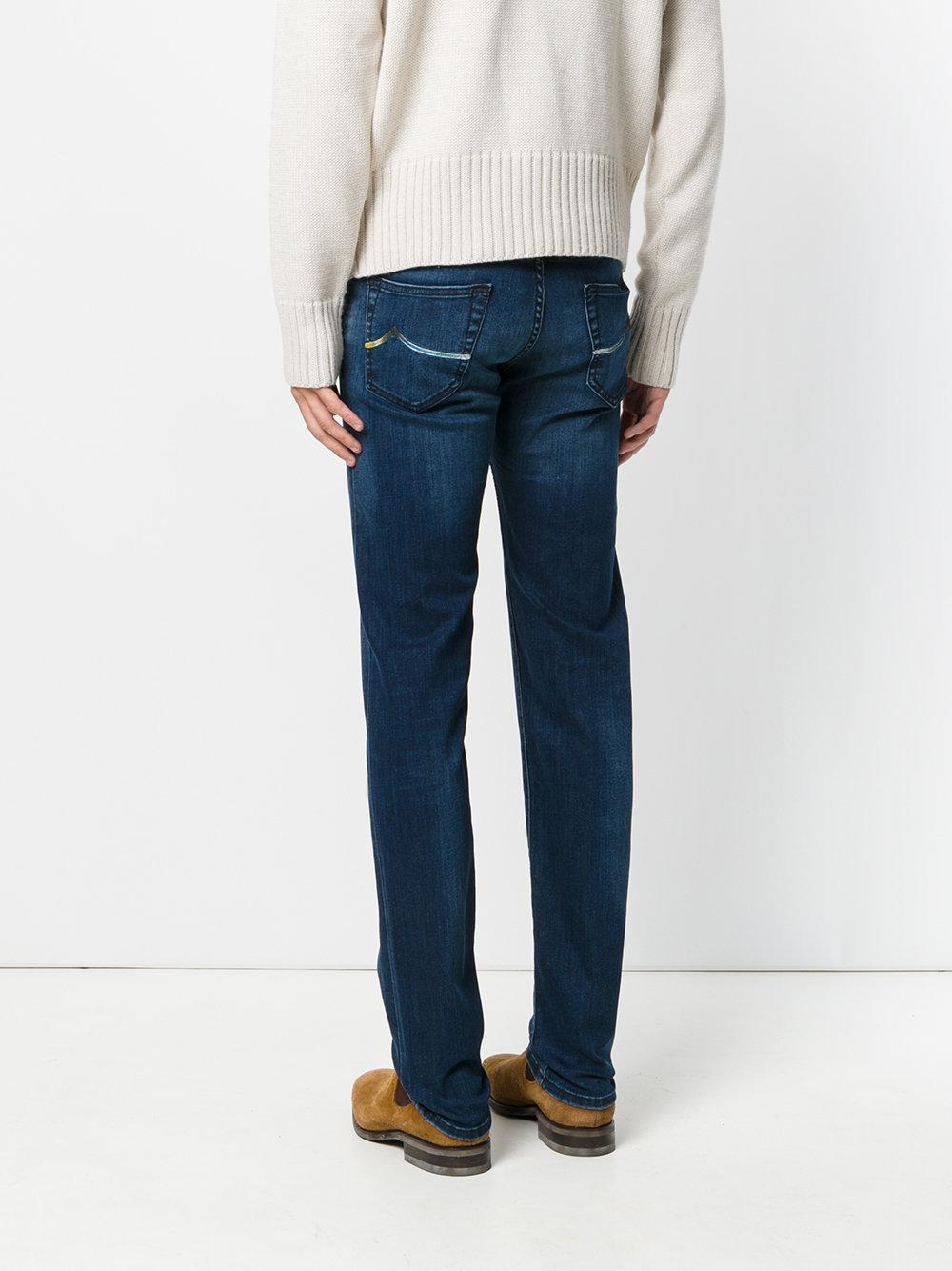 Jacob Cohen Denim Slim-fit Comfort Jeans in Blue for Men
