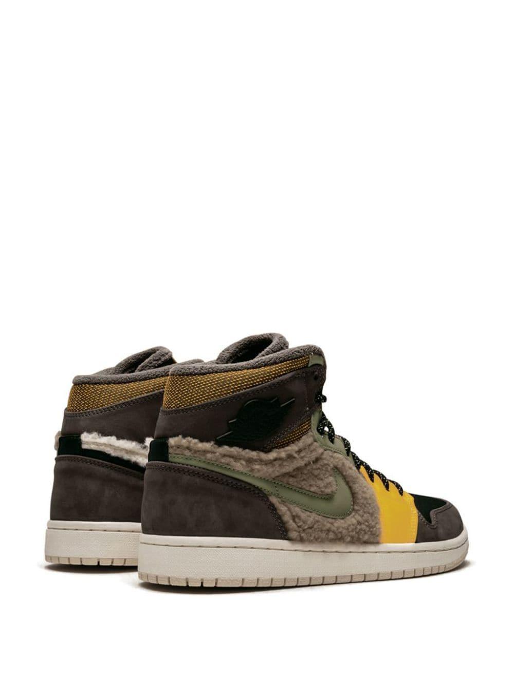 Zapatillas W Air 1 RTR HI PREM UT Nike de Tejido sintético de color Marrón