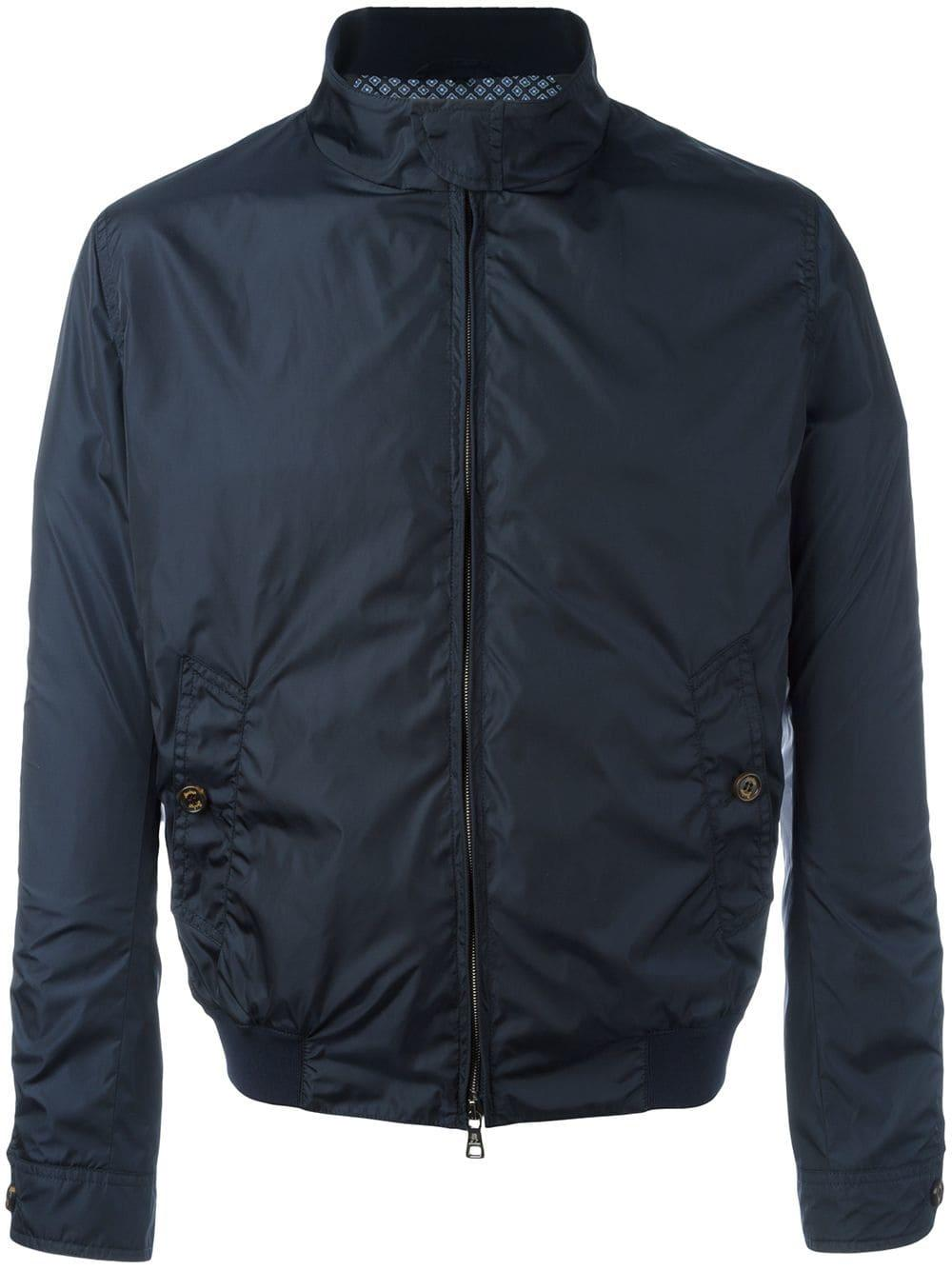 Sealup Synthetic - Zipped Bomber Jacket - Men - Polyamide/acetate/cupro/viscose - 50 in Blue for Men
