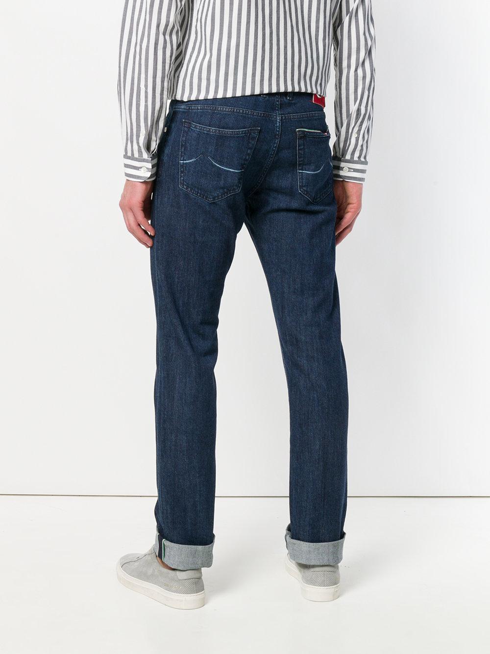 Jacob Cohen Denim Long Regular Jeans in Blue for Men