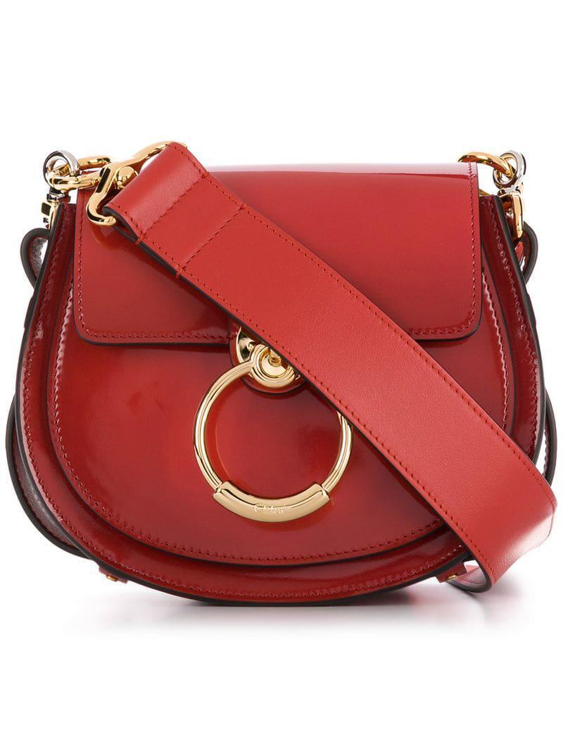 67446390 Lyst - Chloé Shoulder Mini Bag in Red
