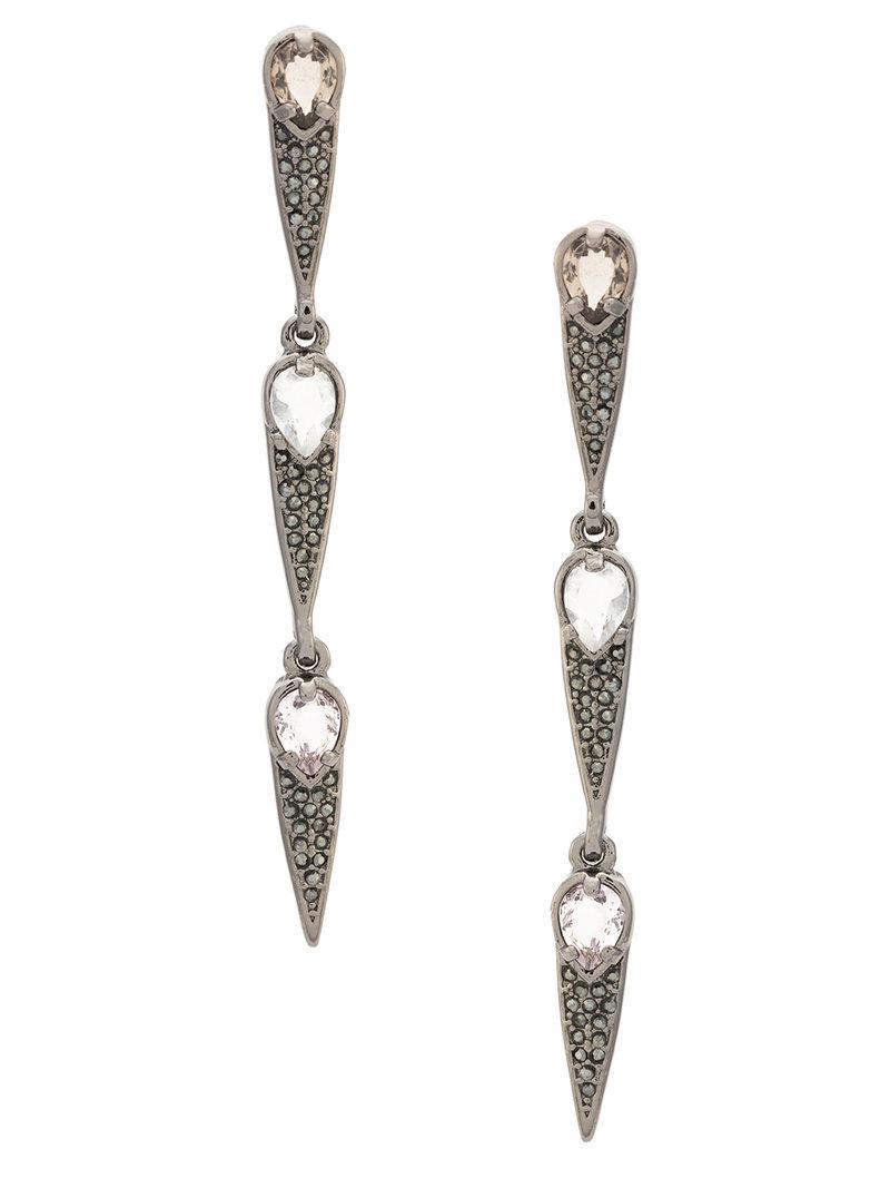 Camila Klein Longo Gotas Ouro earrings - Metallic 7T3wdAR