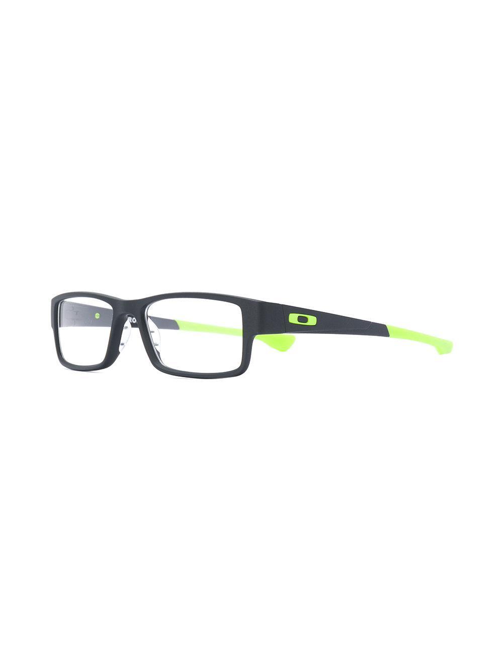 5cbe561e06 Lyst - Oakley Airdrop Glasses in Black for Men