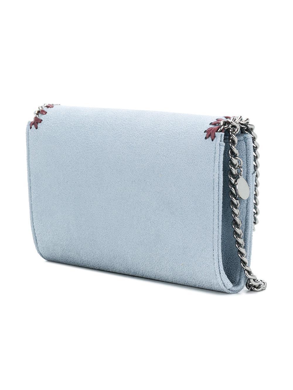 Stella McCartney Falabella Cross Body Bag in Blue