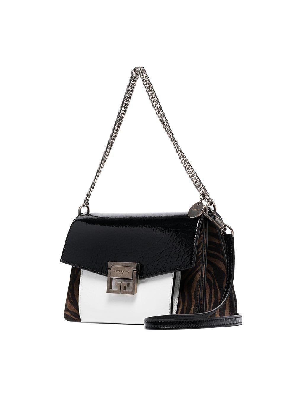 801a842eacb6 Givenchy - Black G3 Zebra Print Patent Leather Bag - Lyst. View fullscreen