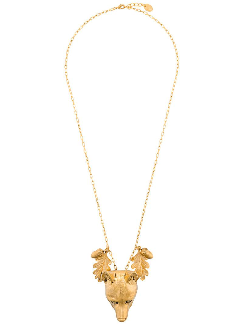Red Valentino arrow embellished necklace - Metallic 2oiDWnn68x