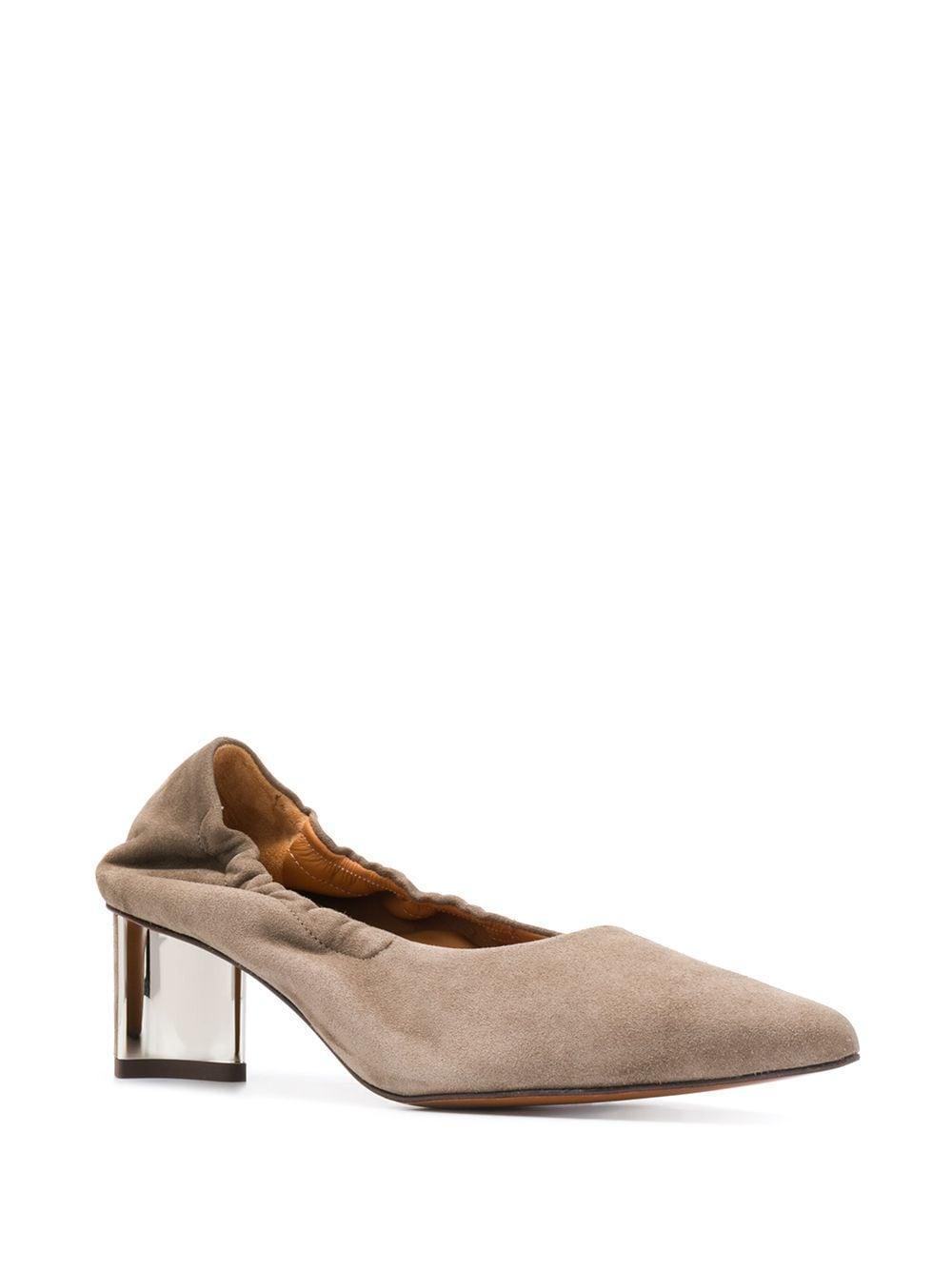 Zapatos de tacón Solal2 de 45mm Robert Clergerie de Ante de color Gris