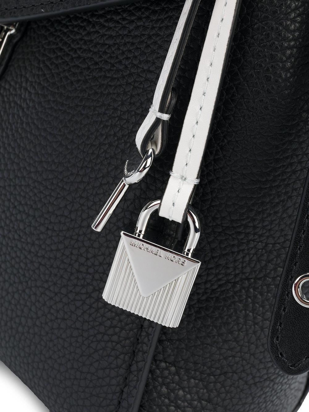 d6c93200a6bf MICHAEL Michael Kors Bristol Floral Appliqué Small Backpack in Black ...