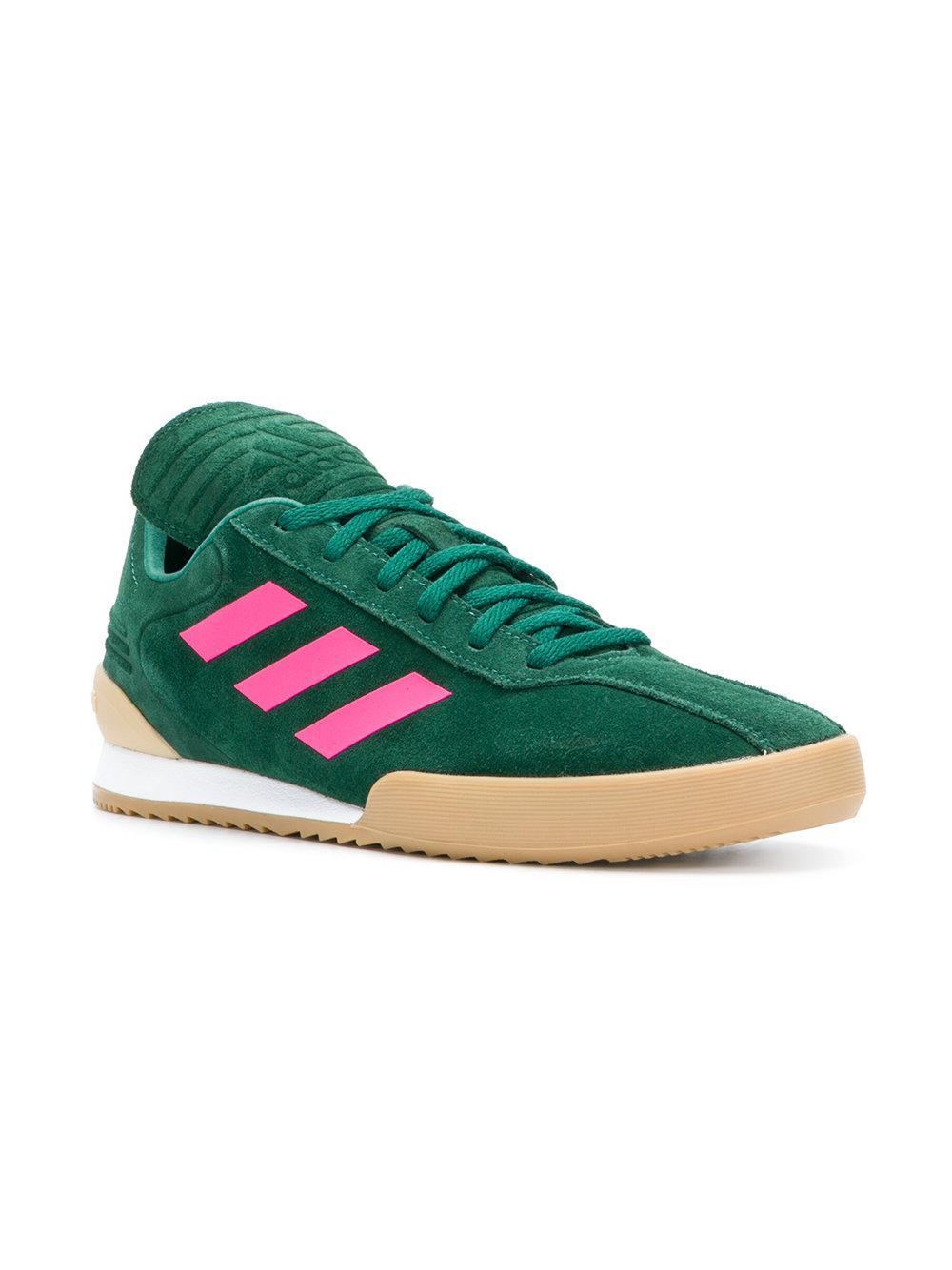 newest 09a31 15a04 Gosha Rubchinskiy - Green Side Stripe Sneakers for Men - Lyst. View  fullscreen