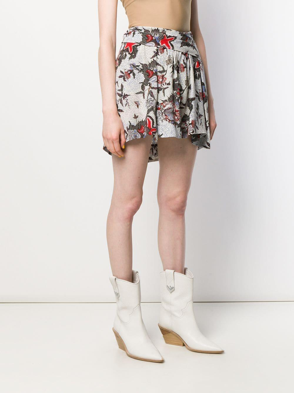 Minifalda estampada Isabel Marant de Tejido sintético