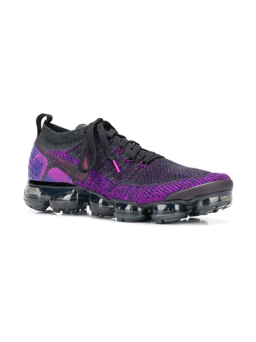 2f1dfbe5ebe627 Lyst - Nike Air Vapormax Flyknit 2 Sneakers in Purple for Men - Save 11%