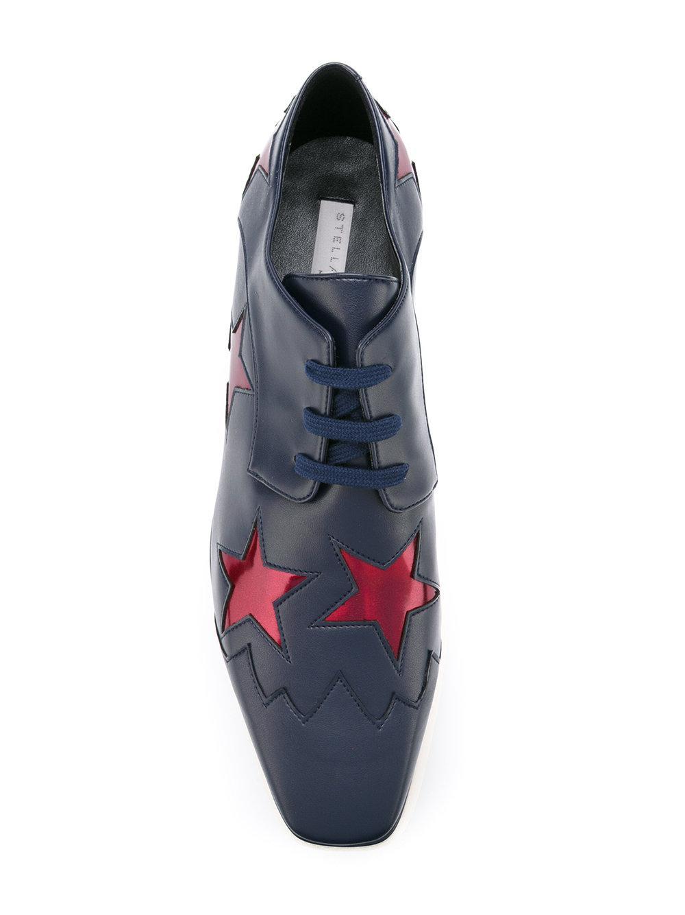 Stella McCartney Ruby star Elyse flatform shoes N9Cssb