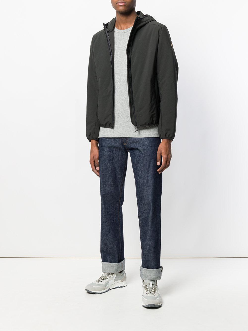 Colmar Synthetic Zip-up Hooded Jacket in Black for Men