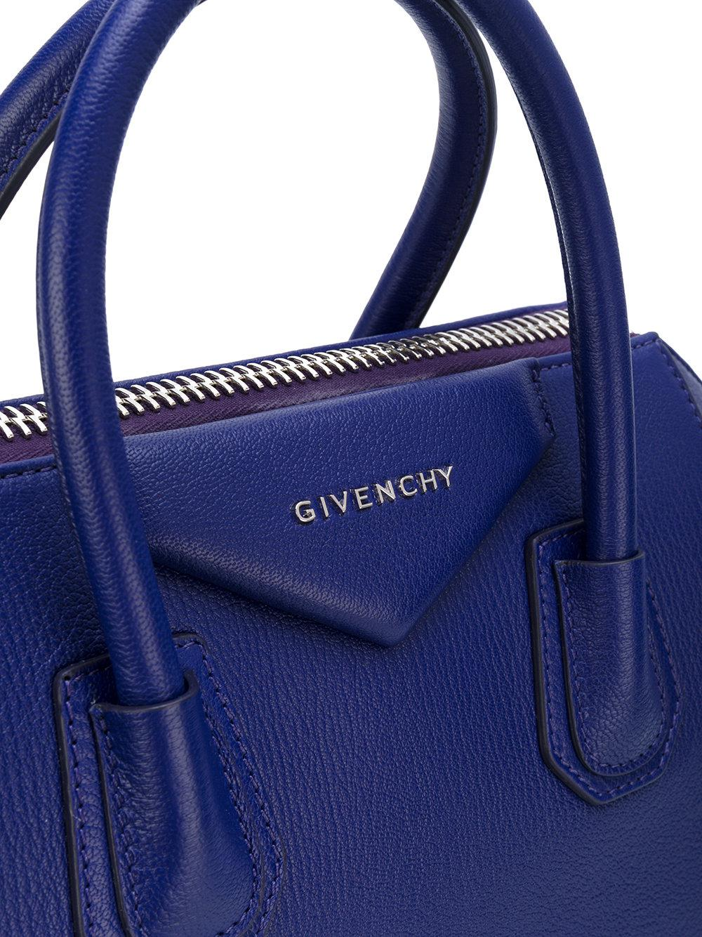 Givenchy Small Antigona Leather Bag in Blue - Save 6.603773584905667% - Lyst 375923820d