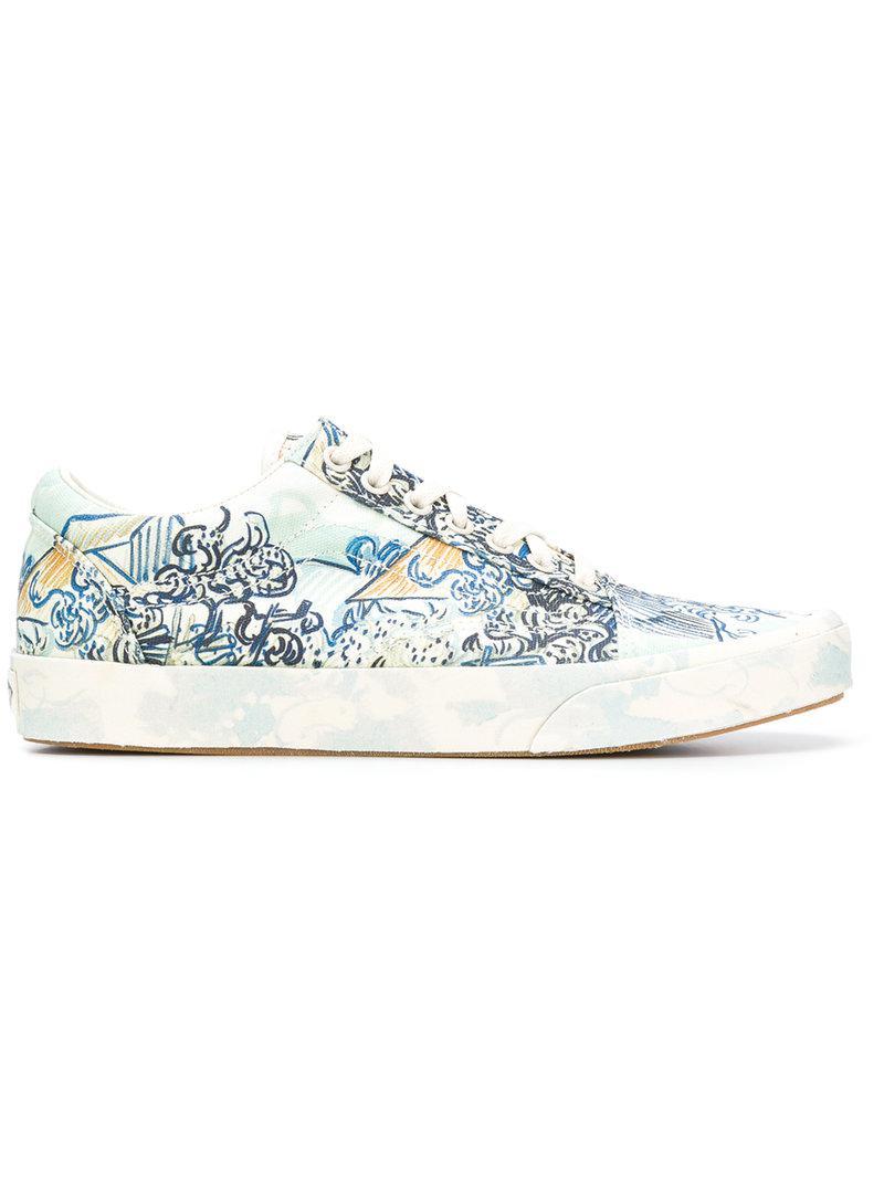 1b4dd01c1fcecc Lyst - Vans Era Print Sneakers in Blue for Men